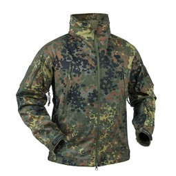 Куртка Helikon Gunfighter Shark Skin, Flecktarn